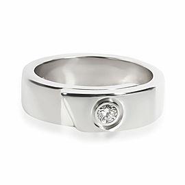 Cartier Nouvelle Vague Diamond Ring in 18K White Gold 0.07 CTW