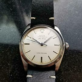 """Mens Rolex Oyster Precision 5500 """"Air-King"""" 34mm Automatic, c.1960s Swiss LV760"""