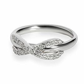 Tiffany & Co. Diamond Infinity Ring in 18K White Gold
