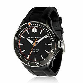 Baume & Mercier Clifton Club MOA10339 Men's Watch in DLC