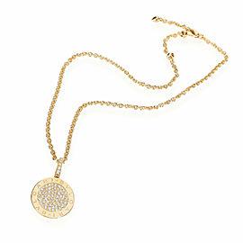 Bulgari Bvlgari Bvlgari Diamond Pendant in 18K Yellow Gold 1.67