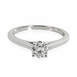 Cartier 1895 Diamond Solitaire Ring in Platinum G VVS2 0.36 CTW