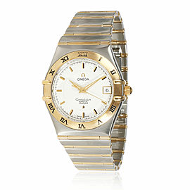 Omega Constellation Perpetual Calendar 1252.30.00 Men's Watch in 18kt Stainless