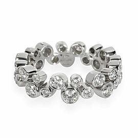 Tiffany & Co. Bubbles Diamond Eternity Band in Platinum 0.96 CTW