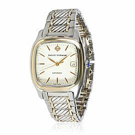 David Yurman Thoroughbred T301-LS8 Men's Watch in 18kt Yellow Gold/Steel