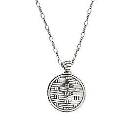 John Hardy Necklace Enhancer In Sterling Silver 22