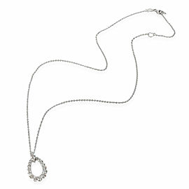Hearts on Fire Aerial Diamond Necklace in 18K White Gold 0.85 CTW