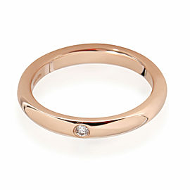 Tiffany & Co. Elsa Peretti Diamond Band in 18K Rose Gold 0.02 CTW