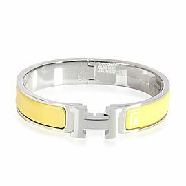 Hermes Clic H Jaune D'or Palladium Plated Bracelet Size PM