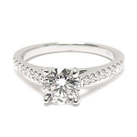 GIA Certified James Allen Diamond Engagement Ring in Platinum H VS1 0.90 CTW