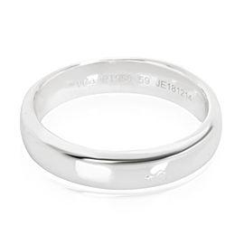 Van Cleef & Arpels Toujours Men's Wedding Band in Platinum