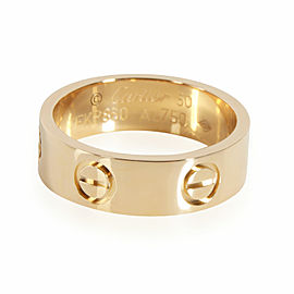 Cartier Love Band in 18K Yellow Gold