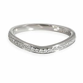 Cartier Ballerine Diamond Wedding Band in Platinum 0.09 CTW
