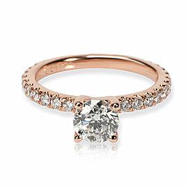 Martin Flyer Diamond Engagement Ring in 14K Rose Gold GIA J VVS1 1.64 CTW