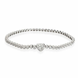 Tiffany & Co. Tiffany Hearts Diamond Bracelet in Platinum 3.00 CTW