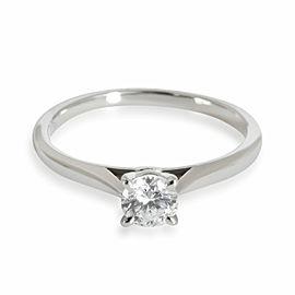 Cartier 1895 Diamond Solitaire Engagement Ring in Platinum E VVS1 0.28 CTW