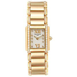 Patek Philippe Twenty-4 Small 18K Rose Gold Diamond Ladies Watch 4908