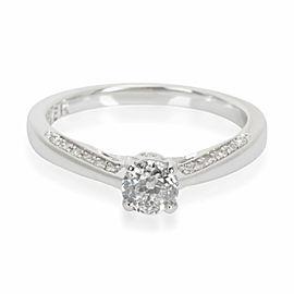 Forever Diamond Engagement in 18K White Gold 0.40 CTW