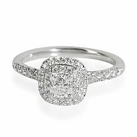 Tiffany & Co. Soleste Diamond Engagement Ring in Platinum G VS2 0.65 CT