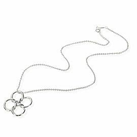Tiffany & Co. Elsa Peretti Quadrifoglio Pendant in Sterling Silver