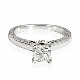 Neil Lane Diamond Engagement Ring in 14K White Gold I SI1 1.06 CTW