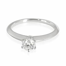 Tiffany & Co. Diamond Engagement Ring in Platinum Platinum H VS1 0.41 CTW