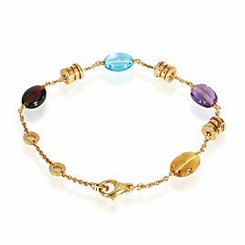 Bulgari Allegra Multi-Colored Sapphire Bracelet in 18k Yellow Gold