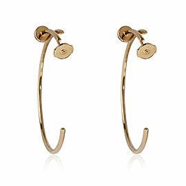 Cartier Juste Un Clou Diamond Hoop Earring in 18k Yellow Gold 0.17 CTW