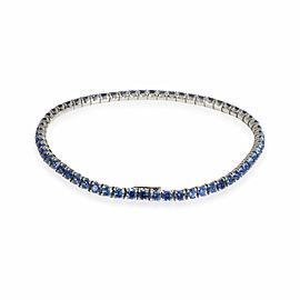 Cartier Sapphire Essentials Tennis Bracelet in 18k White Gold