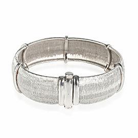 Roberto Coin Diamond Bracelet in 18K White Gold 0.20 CTW