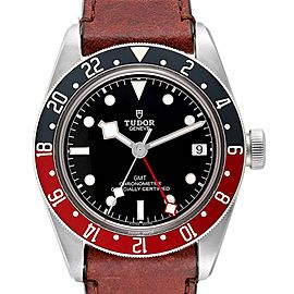 Tudor Heritage Black Bay GMT Pepsi Bezel Mens Watch 79830RB Box Card