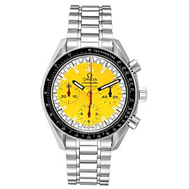 Omega Speedmaster Schumacher Yellow Dial Automatic Mens Watch 3510.80.00