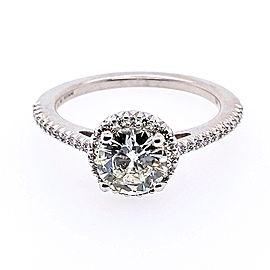 Ritani 1RZ3702CRWG-65 18k White Gold Diamond Ring