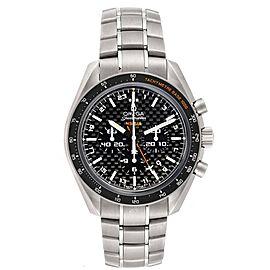 Omega Speedmaster HB-SIA GMT Titanium Watch 321.90.44.52.01.001