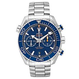 Omega Planet Ocean Blue Dial Steel Mens Watch 215.30.46.51.03.001 Card