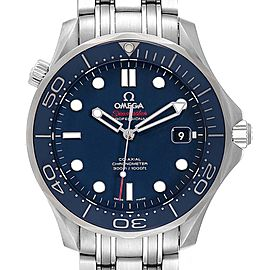 Omega Seamaster Diver Co-Axial Mens Watch 212.30.41.20.03.001 Box Card