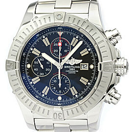 Polished BREITLING Super Avenger Chronograph Automatic Watch A13370