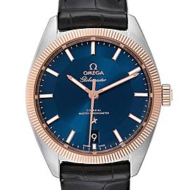 Omega Constellation Globemaster Steel Sedna Gold Watch 130.23.39.21.03.001