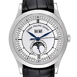 Patek Philippe Complications Annual Calendar White Gold Mens Watch 5396
