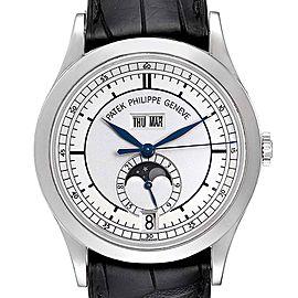 Patek Philippe Complications Annual Calendar White Gold Mens Watch 5396