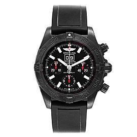 Breitling Chronomat Blackbird Blacksteel Limited Edition Watch M44359