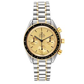 Omega Speedmaster Steel 18K Yellow Gold Automatic Watch 3310.10