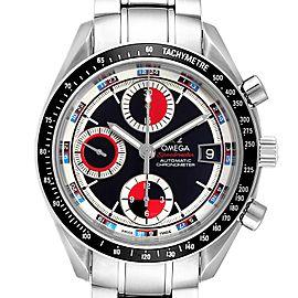 Omega Speedmaster Casino Dial Steel Mens Watch 3210.52.00 Box Card