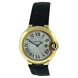 Cartier Ballon Bleu 18K Yellow Gold 29mm Womens Watch
