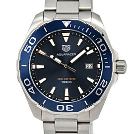 TAG HEUER Stainless Steel Aqua racer Watch