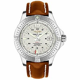 Breitling Colt Automatic 44MM Men's Brown Leather Watch