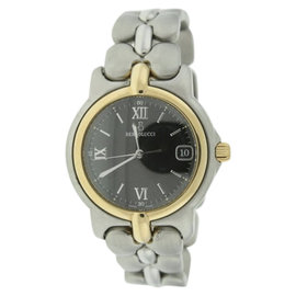 Bertolucci 123.55549P 18K Yellow Gold & Stainless Steel 36mm Watch