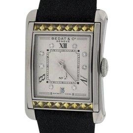 Bedat No.7 Stainless Steel & Yellow Sapphires & Diamonds Womens Watch