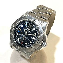 BREITLING A17390 Super Ocean Stainless Steel Automatic Date Wrist watch RSH-865