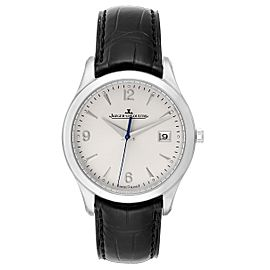 Jaeger Lecoultre Master Control Mens Watch 176.8.40.S Q1548420 Box Papers